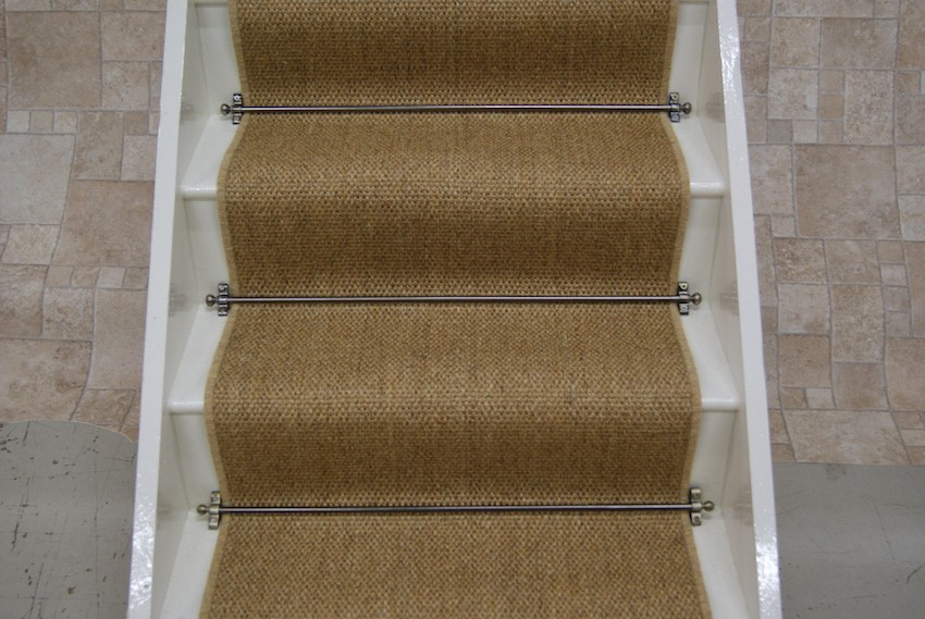 Exceptionnel Sisal Natural Flatweave Stair Runner 7m X 064m