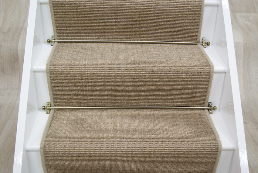 Natural Mini Boucle Sisal Stair Runner 039x65m